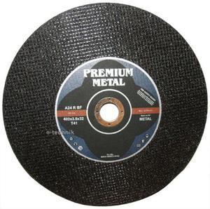 TARCZE DO CIĘCIA 400 x 32 x 4,0 mm PREMIUM METAL