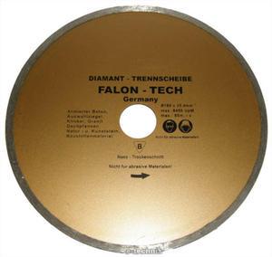 TARCZA DIAMENTOWA DO CIĘCIA NA MOKRO 180 x 25,4 mm FALON TECH