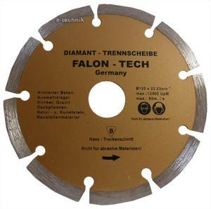 TARCZA DIAMENTOWA 115 x 22,2 mm SEGMENT   FALONTECH