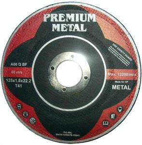 TARCZE DO CIĘCIA 125 x 1,6 x 22,2 mm PREMIUM METAL