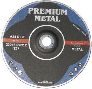TARCZE DO CIĘCIA 230 x 6,0 x 22,2 PREMIUM METAL