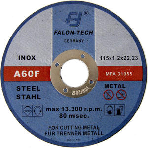 Tarcze do cięcia INOX 115 x 1,2mm FALON-TECH
