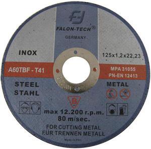 Tarcze do cięcia INOX 125 x 1,2 mm FALON TECH