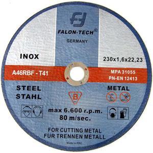 TARCZE DO CIĘCIA 230 x1,6x 22,2 Falon Tech