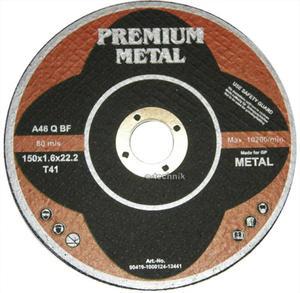TARCZE DO CIĘCIA 150 x 1,6 x 22,2 mm PREMIUM METAL
