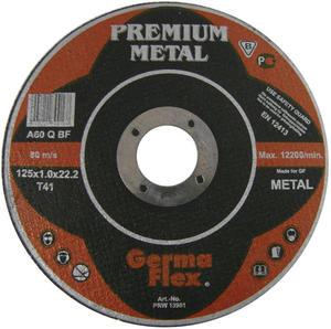 TARCZE DO CIĘCIA 125 x 1 x 22,2 mm PREMIUM METAL