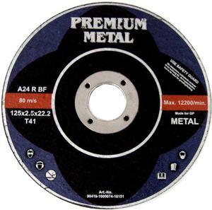 TARCZE DO CIĘCIA 125 x 2,5 x 22,2 mm PREMIUM METAL