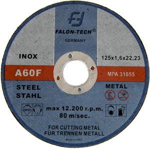 Tarcze do cięcia INOX 125 x 1,6 mm FALON TECH