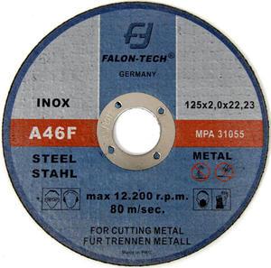 Tarcze do cięcia INOX 125 x 2,0 mm FALON TECH