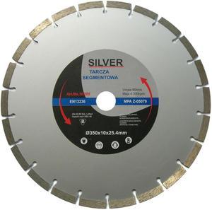 TARCZA DIAMENTOWA 350 x 25.4 x 10 mm SILVER SEGMENT