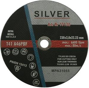 TARCZE DO CIĘCIA 230 x 2 x 22.2 mm SILVER METAL