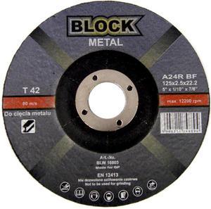 TARCZE DO CIĘCIA 125 x 2,5 x 22 BLOCK METAL