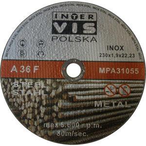 TARCZE DO CIĘCIA 230 x 22,2 x 1.9 mm INTERVIS