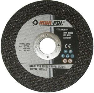 TARCZA DO CIĘCIA METALU 125 x 1,2 x 22.2 mm MARPOL