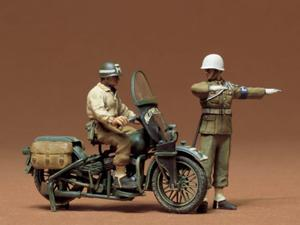 Motocykl policyjny Harley Davidson WLA 750 - 2850351278