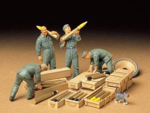 Figurki niemiecka załoga czołgu - 2850351466