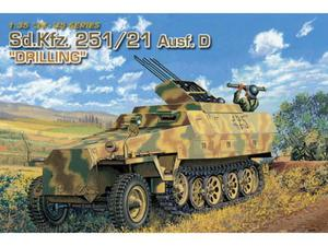 Transporter opancerzony Sd.Kfz. 251/21 Ausf.D Drilling - 2850351548