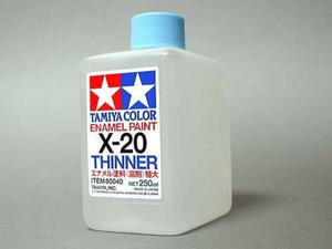 Rozcieńczalnik do farb emaliowych X20 Thinner 250ml - 2850351765