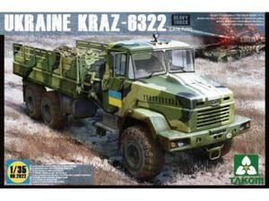 Samochód ciężarowy wojskowy KrAZ-6322 - 2850352519