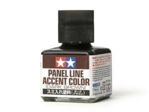Farba do linii podziałowych Panel Line Dark Brown
