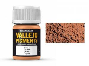 Pigment modelarski Rust