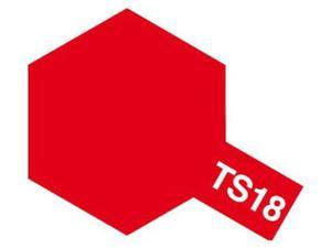 Farba modelarska spray TS18 Metallic Red - 2850352634