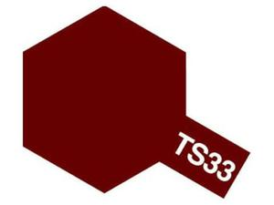 Farba modelarska spray TS33 Dull Red