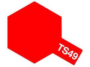 Farba modelarska spray TS49 Bright Red