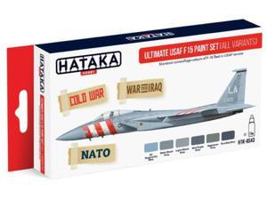 Zestaw farb akrylowych myśliwiec F-15 USAF - 2850352805