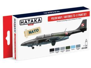 Zestaw farb akrylowych Polski TS-11 Iskra - 2850352827