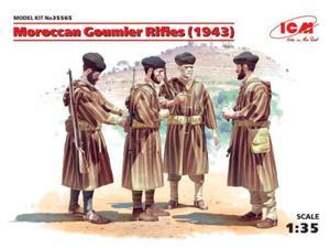 Figurki Marokańscy goumierzy z karabinami - 2850352830