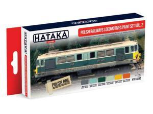 Zestaw farb akrylowych Polskie lokomotywy PKP vol.2 - 2850352844