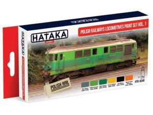 Zestaw farb akrylowych Polskie lokomotywy PKP vol.1 - 2850352872