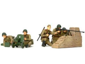 Figurki żołnierzy rosyjskiej piechoty - 2850352922