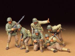 Figurki amerykańska piechota U.S. Army
