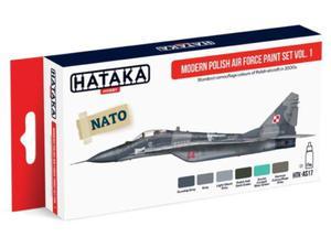 Zestaw farb akrylowych Polskie Siły Powietrzne vol.1 - 2850352935