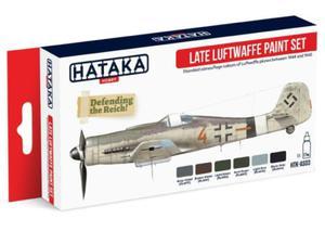 Zestaw farb akrylowych Late Luftwaffe - 2850352937