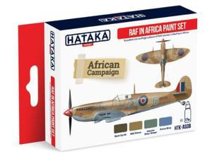 Zestaw farb akrylowych RAF w Afryce - 2850352938