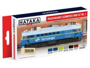 Zestaw farb akrylowych Polskie lokomotywy PKP vol.3 - 2850352992