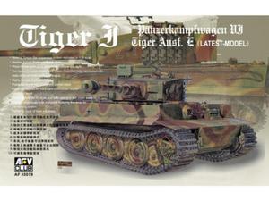 Czołg Tiger I PzKpfw VI Ausf.E - 2856334497