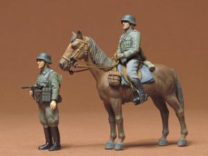 Figurki niemiecka piechota konna - 2857024604