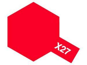 Farba modelarska akrylowa X27 Clear Red - 2858724167