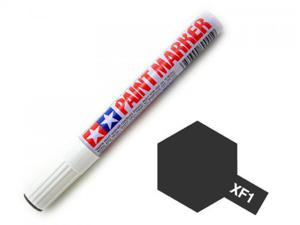 Marker farba modelarska emaliowa XF1 Flat Black - 2850349876