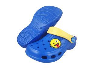 0-L881 LEMIGOOS Lemigo ciemno niebieskie klapki chodaki basenowe-plażowe dziecięce EVA Lemigo Azurro 24-35 - 2822909835