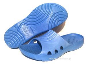 0-L857ni niebieskie klapki basenowe-plażowe Lemigo - 2822908284