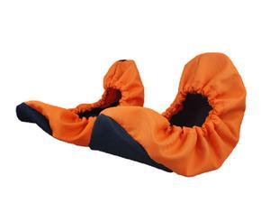 10-102/1 POMARAŃCZOWO GRANATOWE ochraniacze na buty,...