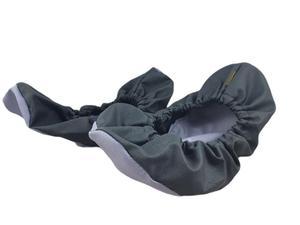 10-102/1 CIEMNO SZARE JASNO SZARE ochraniacze na buty, wielorazowe ortalionowe obuwie ochronne obuwie muzealne, ochronniki, pokrowce na obuwie - 2860077773