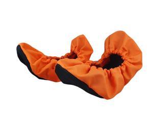 10-102/1 POMARAŃCZOWO CZARNE ochraniacze na buty, wielorazowe...