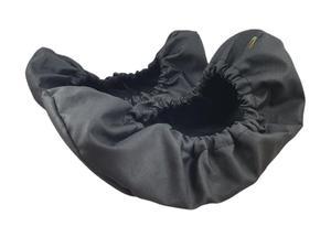 10-102/1 CZARNE BISBUT ochraniacze na buty, wielorazowe ortalionowe obuwie ochronne obuwie muzealne, ochronniki, pokrowce na obuwie, do  - 2822908405