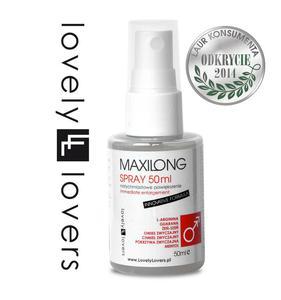 Innowacyjny płyn powiększający penisa - Lovely Lovers MAXILONG Spray INNOVATIVE FORMULA 50ml - 2279258530
